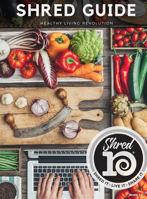 Shred Detox Diet by 10 Day Shred Guide And Recipes Join Me For 10 Days To