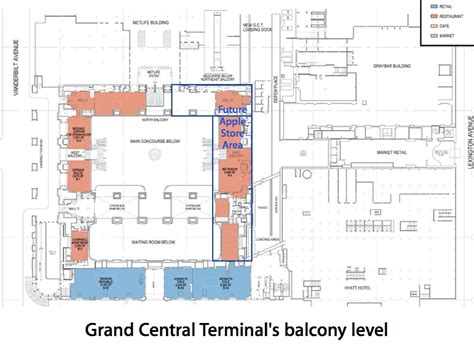 grand central station floor plan largest apple store grand central terminal in the big apple