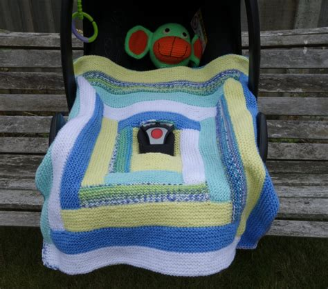 knitted car seat blanket pattern knitted car seat blanket baby blanket baby boy blanket