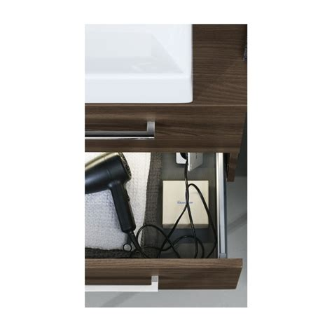 elements bathroom furniture elements slim basin drawer vanity stonewood