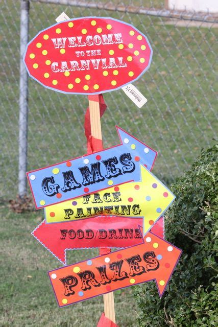 Sports Day Decorations by Best 25 Carnival Decorations Ideas On Circus