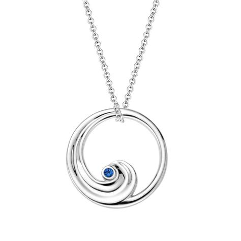how to make jewelry pendants sapphire wave necklace brilliant earth