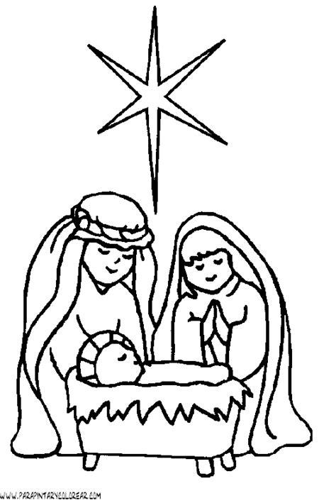 imagenes infantiles sobre el nacimiento de jesus dibujo de nacimiento de jesus nazaret 002