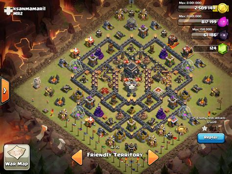 coc layout th9 anti gowipe go wipe anti th9 base car interior design