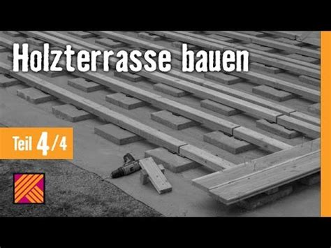 holz terrasse version 2013 holzterrasse bauen kapitel 4