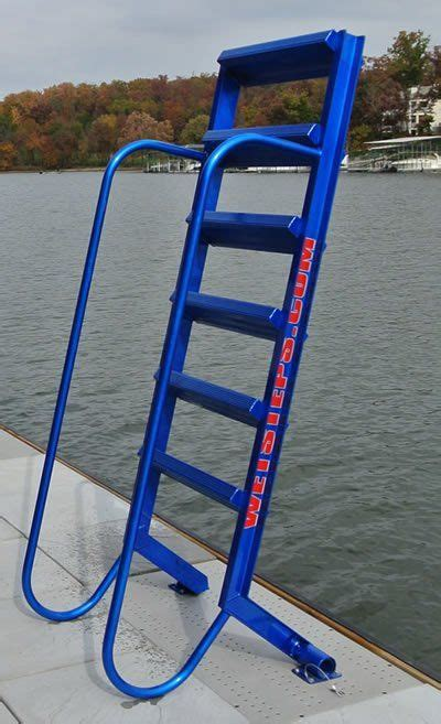 boat ladder aluminium 5 step wet steps dock ladders dock stairs pinterest