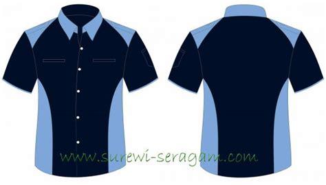F5107 Kaos Pria Workshop Navy contoh seragam indobeta