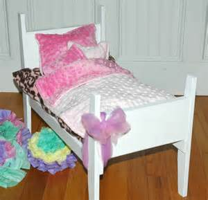 american doll bed american doll bed pretty in pink doll bed by girldollbeds