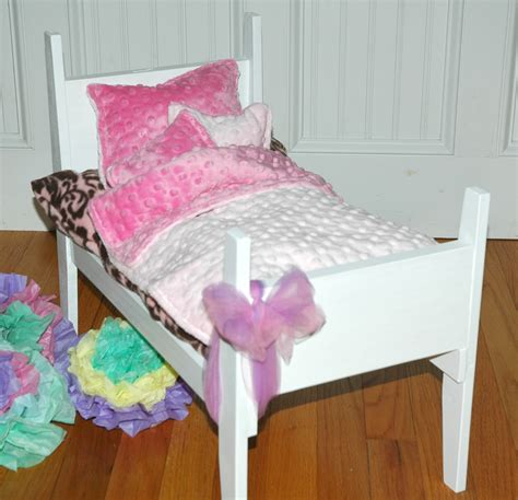 american doll bed american girl doll bed pretty in pink doll bed by girldollbeds