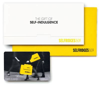 Selfridges Gift Card - gift cards selfridges com