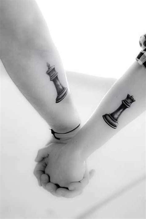 tattoo queen chess piece king and queen chess pieces tattoos pinterest