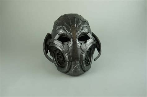 printable ultron mask download ultron fully wearable mask by stefanos