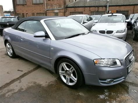 Audi A4 Convertible 2006 For Sale by Used Audi A4 2006 Diesel 2 0 Tdi Sport 2dr Convertible