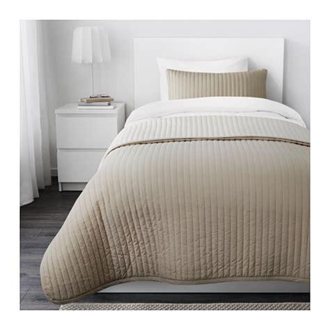 copriletti singoli ikea karit copriletto e fodera per cuscino 180x280 40x65 cm