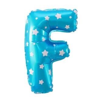 Balon Foil Huruf Warna Biru 40 Cm 217 74 foil balon huruf f biru motif bintang lazada indonesia
