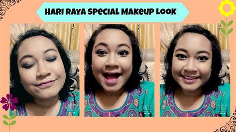 tutorial makeup raya hari raya special makeup tutorial youtube