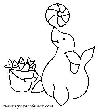 imagenes para colorear foca dibujos para colorear focas