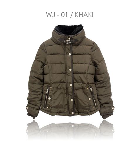 Jaket Casual Lifestyle Kasual Wanita Jaket Baby Canvas Krem Vac 04 branded winter jacket 100 premium winter coat jaket winter wanita pakaian wanita musim dingin
