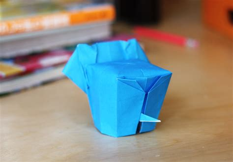 Origami Elephant Tutorial - origami elephant how about orange