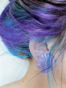 Blue and purple hair pictures photos and images for facebook tumblr