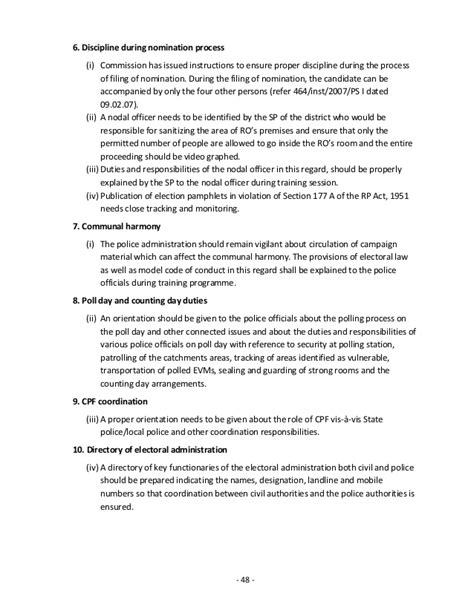 Field Officer Recommendation Letter Checklist For Officers 2014