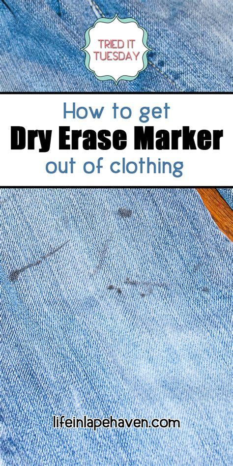 How To Get Dry Erase Marker Out Of Jeans Life In Lape Haven