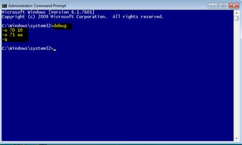 reset bios using cmd how to reset bios supervisor password with debug command