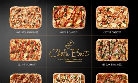 domino pizza flavour domino s big boss reveals 8 new pizza flavours qsr media