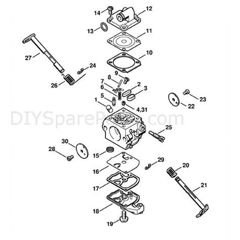 stihl ms180c parts diagram stihl ms 180 chainsaw ms180c b parts diagram carburetor