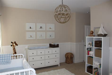 Neutral Wall Decor by Beige And White Neutral Nursery For Baby Boy Project Nursery