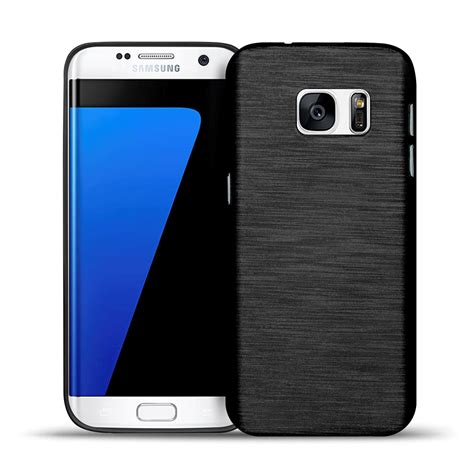 Samsung S7 Silikon Sulley Cover Silikon h 252 lle f 252 r samsung galaxy s7 edge brushed muster schutz cover silikon tasche ebay