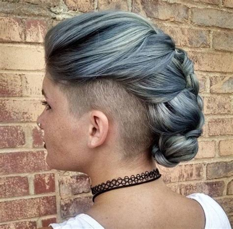 women undercut long top 30 trending female undercut hairstyles for any face shape
