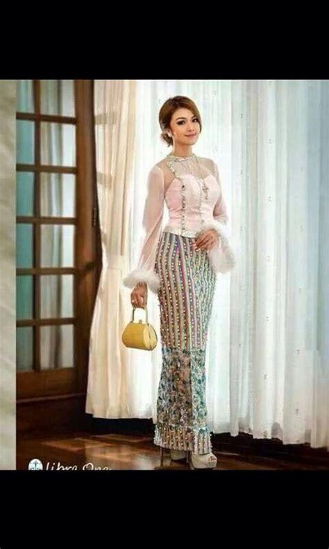 Baju Claudy Blouse this dress myanmar dress dresses