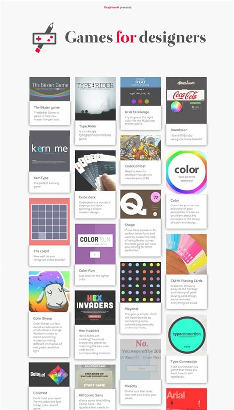 game design articles des jeux pour les web designers d 233 veloppeurs et