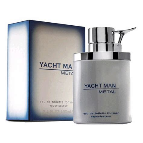 Yacht Metal authentic yacht metal cologne by myrurgia 3 4 oz eau