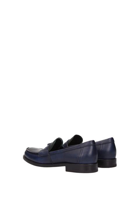 prada loafers womens loafers prada leather blue 1d055fbalticosmerald ebay