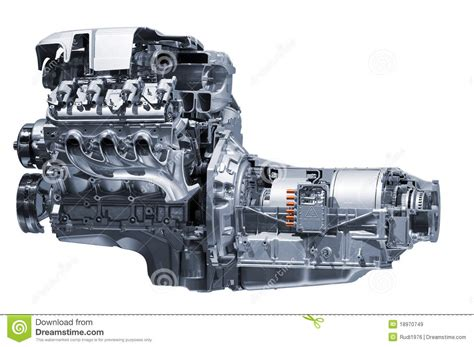 how does a cars engine work 2006 chevrolet express 3500 on board diagnostic system hybrid car engine royalty free stock images image 18970749