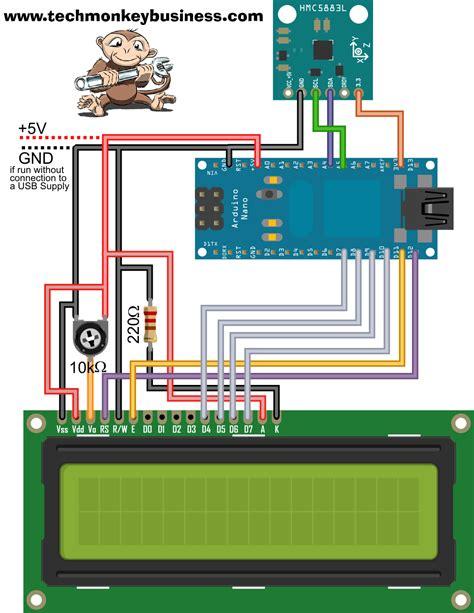 arduino code hmc5883l hmc5883l digital compass on an arduino