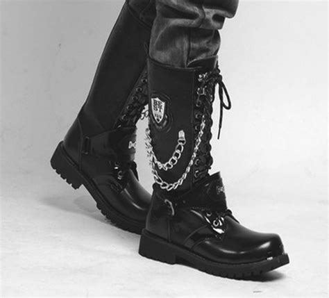 cool boots mens 2015 top fashion rock cool s high