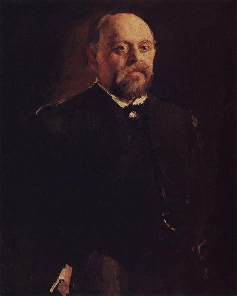 valentin serov portrait of savva mamontov 1887 valentin serov
