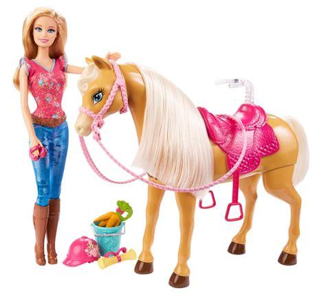 film barbie horse barbie cuddle and feed tawny horse amazon co uk toys games