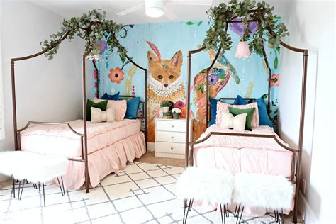 whimsical bedroom modern ranch house girls whimsical bedroom classy clutter