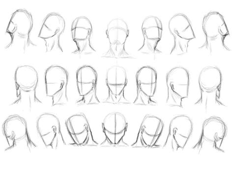 how to draw heads at different angles the gallery for gt drawing faces angles