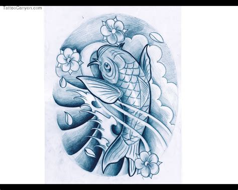 blue koi fish tattoo collection of 25 blue koi fish aqua design