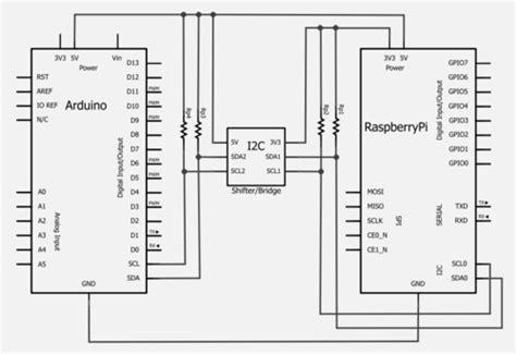 i2c pullup resistor raspberry pi binerry raspberry pi with i2c arduino