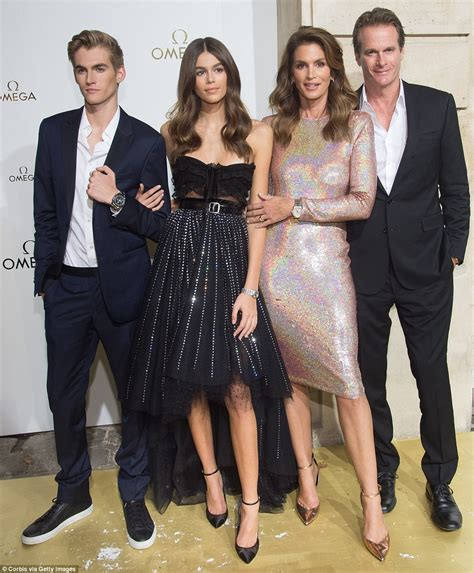 kaia gerber omega ad cindy crawford sizzles in versace for instyle daily mail