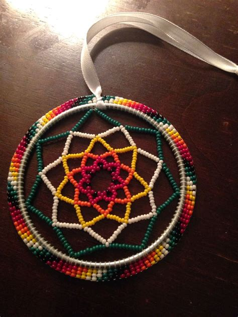 how to make a beaded dreamcatcher beaded dreamcatcher beadwork