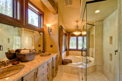 unique master bathrooms 10 unique timber home bathrooms