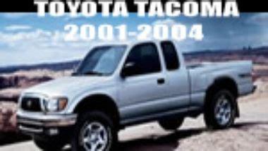 toyota tacoma service repair manual 2001 2002 2003 2004 best manuals manual de reparacion y mecanica toyota tacoma 1998 1999 2000