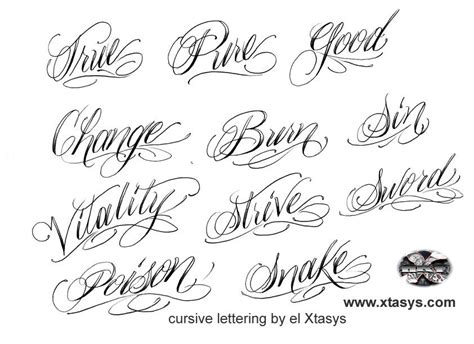 printable tattoo fonts tattoo script font generator free tattoo s imagine